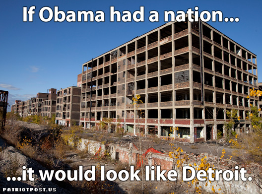THIS IS WHAT OBAMA'S STIMULUS DID FOR DETROIT!