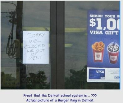 Detroit school system