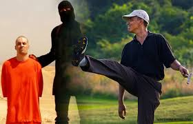 While Obama and Company refuse to acknowledge the murdering terrorists for what they really are more and more people are beheaded and burnt alive.  Obama and Company refuse to call them Muslims but the murdering terrorists don't!