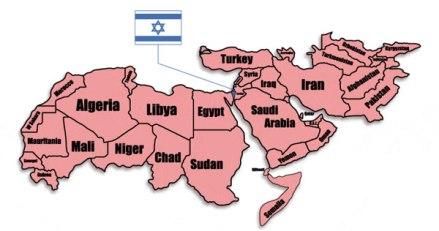 mapIslamIsrael