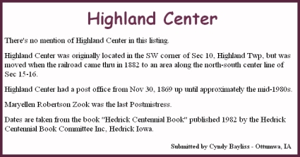 Highland Center Lightbox