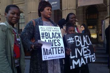 black lives matter melbourne