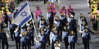 Israeli olympic-delegation