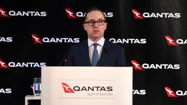 quantas homo by AAP Paul Miller of Alan Joyce