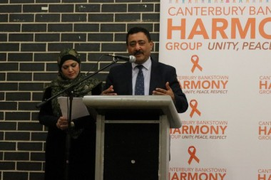 Prsident of Canterberry BankstownHarmony Group said {auline Hanson not welcome
