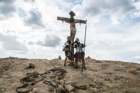 Mocking jesus in organ donar ad
