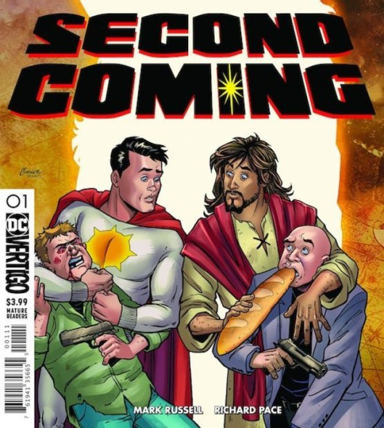 dc comic series on the lords second coming