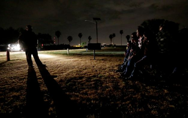 Border Crossing AP Photo Eric Gay