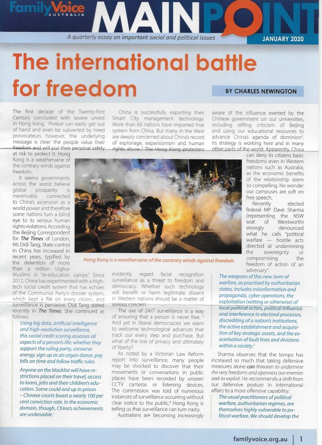 International Battle for Freedom Page 1