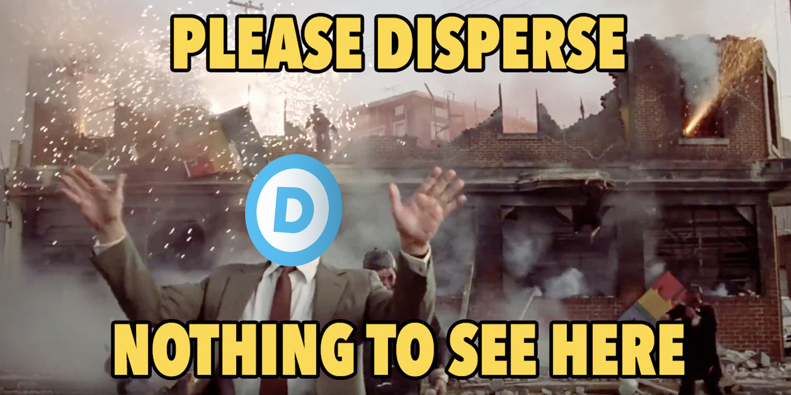 Democrat nothing to see here